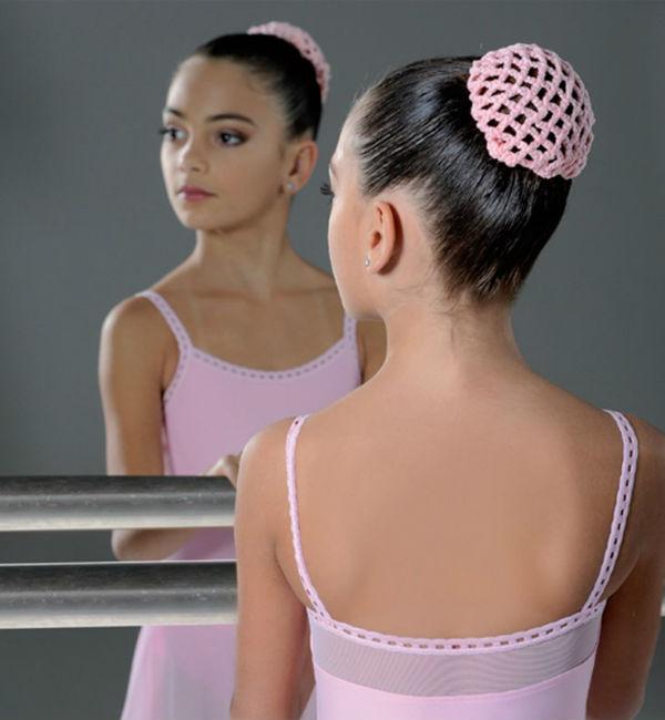 Балетная прическа шишка